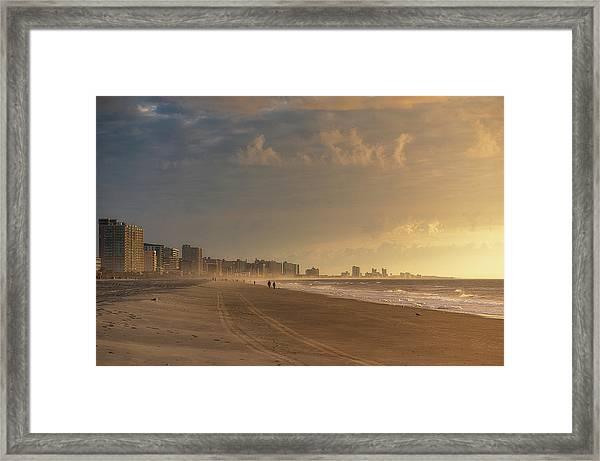 Myrtle Sunrise Framed Print