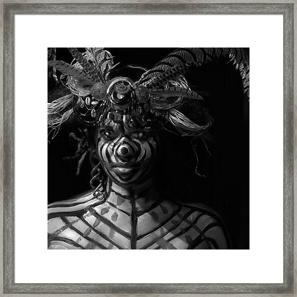 Mystery #45 And 72 Framed Print