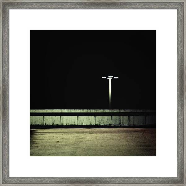Mystery Of The Past Framed Print