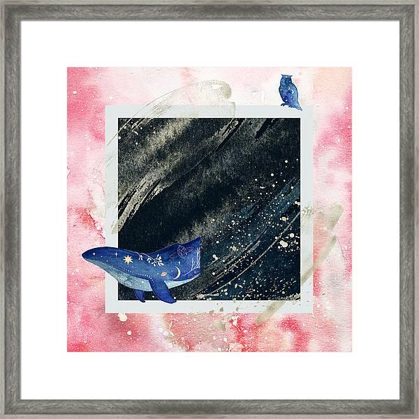 Mystic Voyage Framed Print