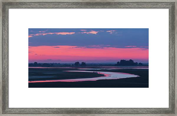 Mystical River Framed Print