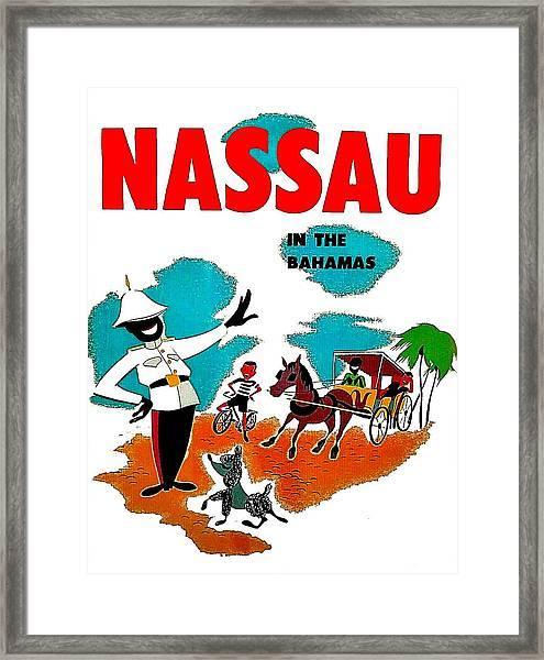 Nassau In The Bahamas Framed Print