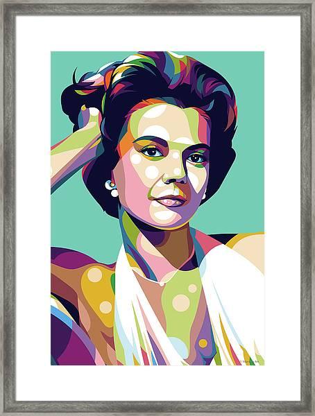 Natalie Wood Framed Print