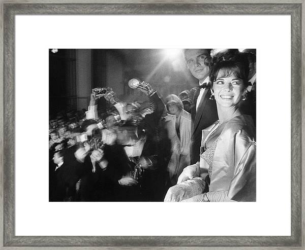 Natalie Woodwarren Beatty Framed Print