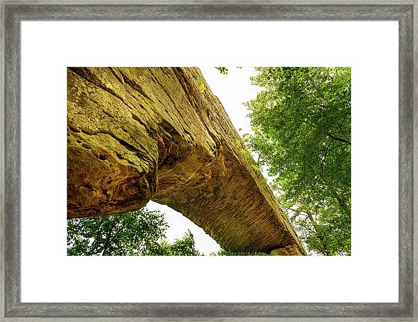 Natural Bridge 4 Framed Print