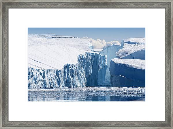 Nature And Landscapes Of Greenland Framed Print