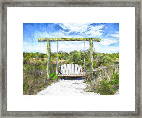 Nature Swing Framed Print