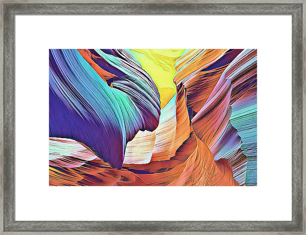 Nature's Powerful Ways Framed Print