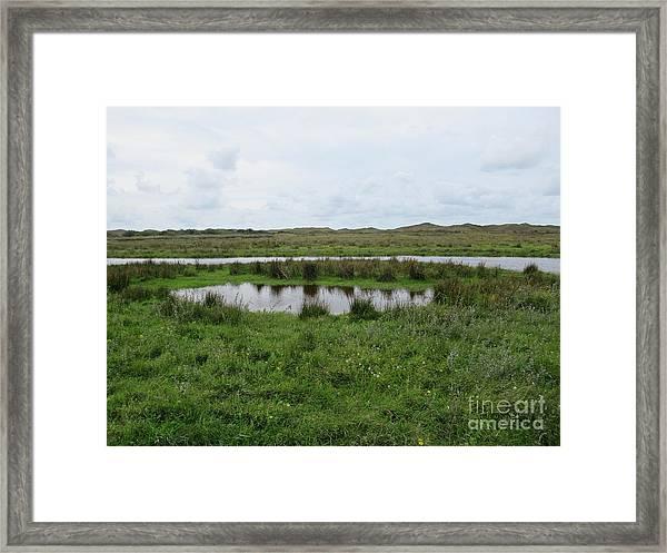 Near De Muy On Texel Framed Print