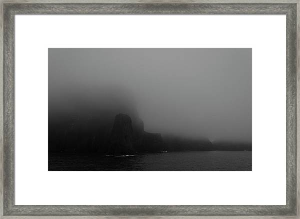 Near The End Of The World Framed Print