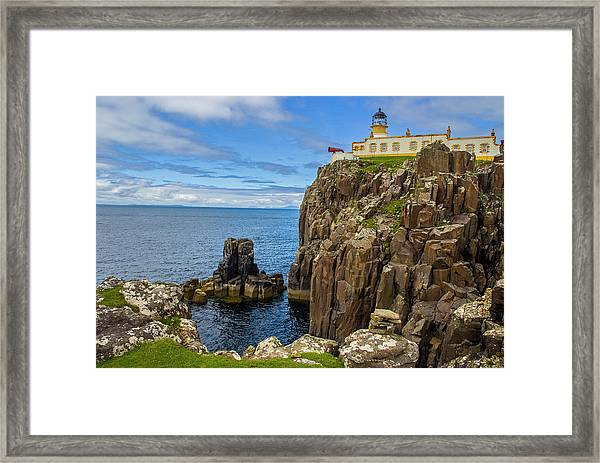 Neist Point Lighthouse Framed Print