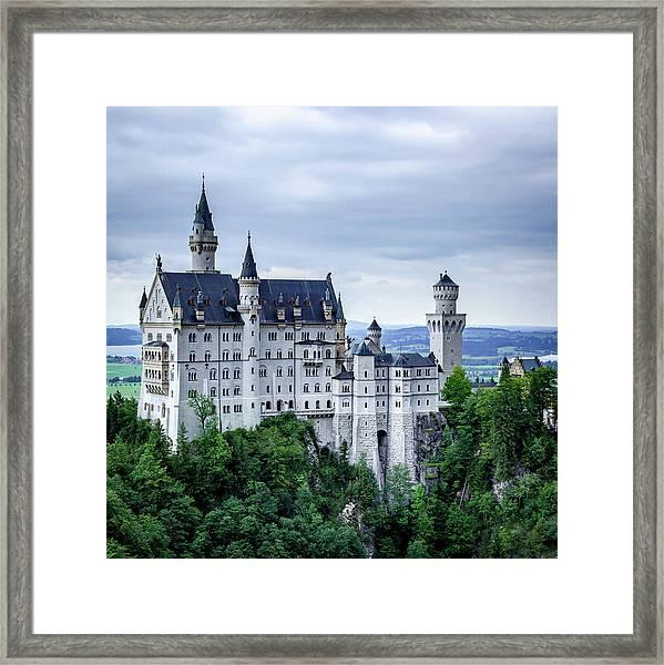 Neuschwanstein Framed Print