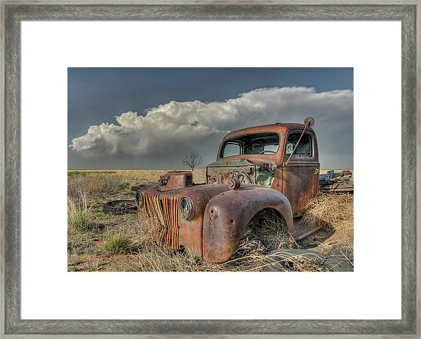 Never Quit Framed Print