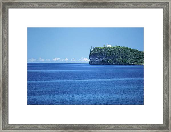 New Caledonia, Loyalty Islands, Lifou Framed Print