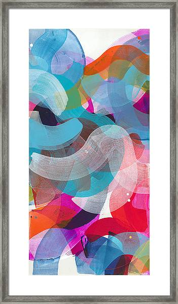 New People Framed Print