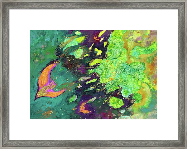 New Wind - #ss19dw011 Framed Print by Satomi Sugimoto