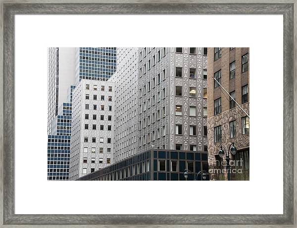 New York Architecture Framed Print