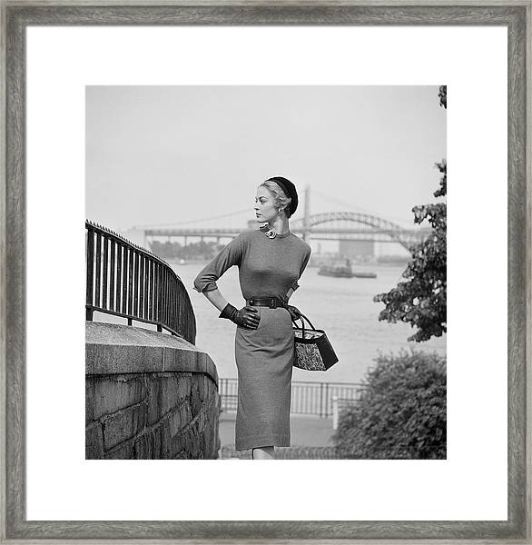 New York Chic Framed Print by Slim Aarons