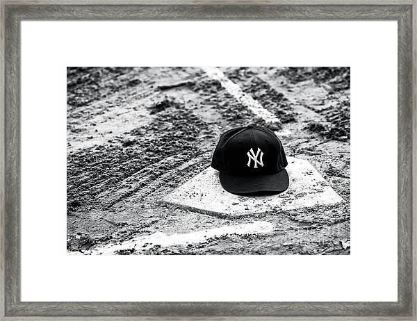New York Yankees Home Framed Print