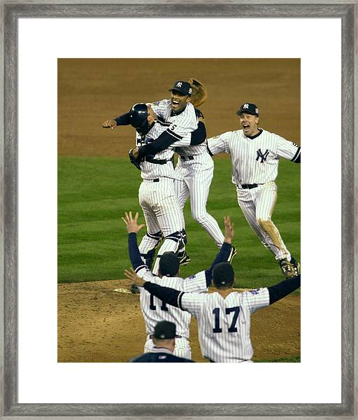 New York Yankees Pitcher Mariano Rivera Framed Print