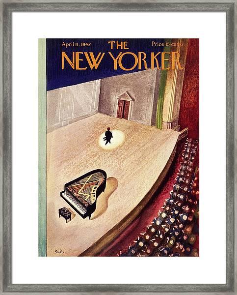 New Yorker April 11th 1942 Framed Print