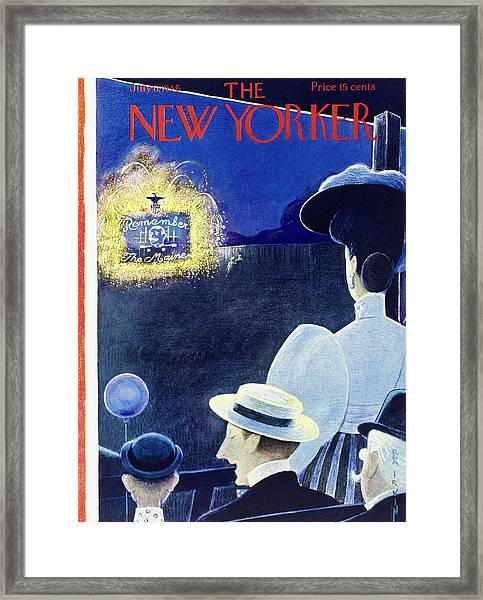 New Yorker July 6th 1946 Framed Print