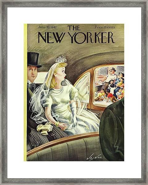 New Yorker June 20th 1942 Framed Print
