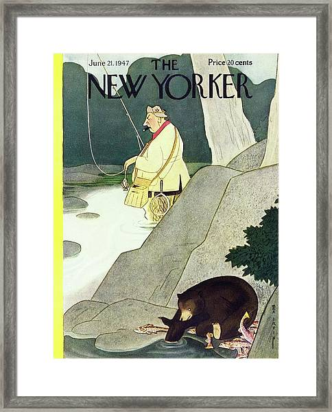 New Yorker June 21st 1947 Framed Print