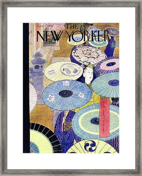 New Yorker June 7th 1947 Framed Print