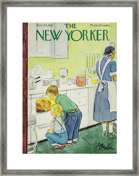 New Yorker November 24, 1951 Framed Print