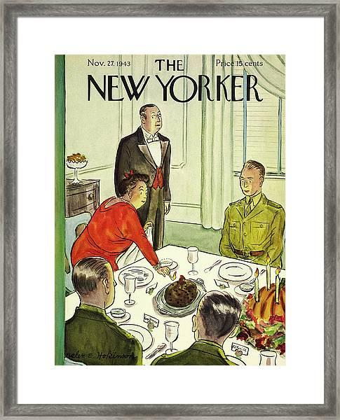 New Yorker November 27th 1943 Framed Print