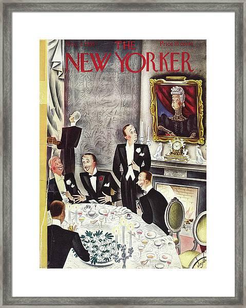 New Yorker November 2nd 1935 Framed Print