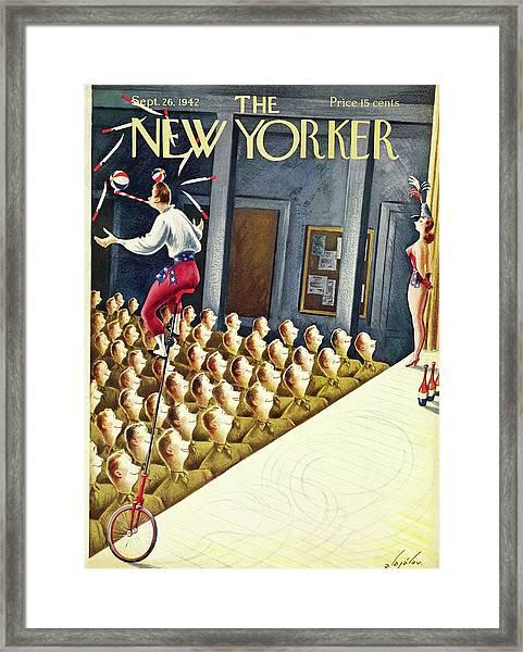 New Yorker September 26th 1942 Framed Print