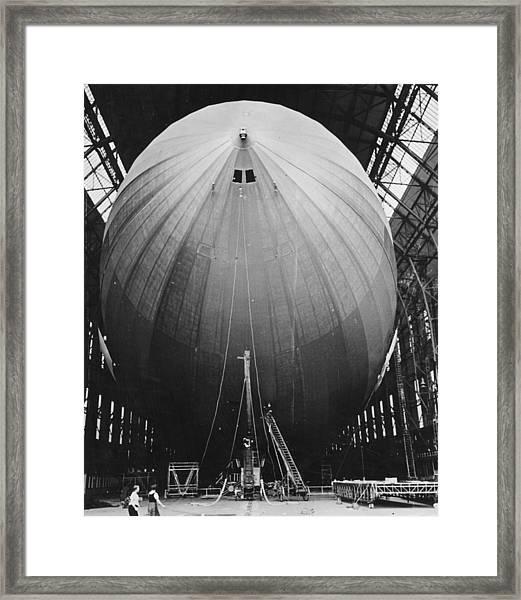 New Zeppelin Framed Print