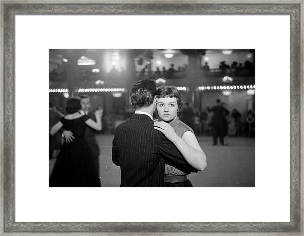 Newlywed Dance Framed Print by Kurt Hutton