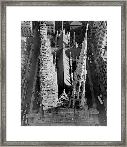 News Photographer Lester Mannix Circled Framed Print
