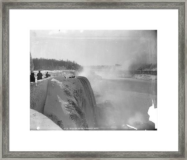 Niagara Falls From Prospect Park Framed Print