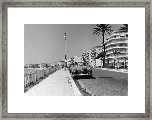 Nice Seafront Framed Print by Fpg