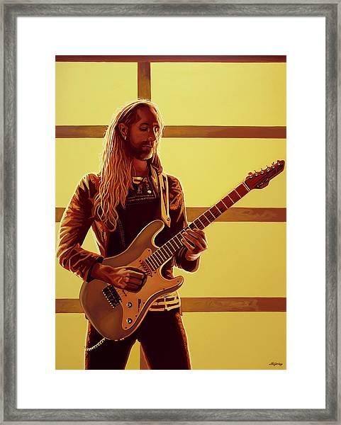 Nick Johnston Painting Framed Print