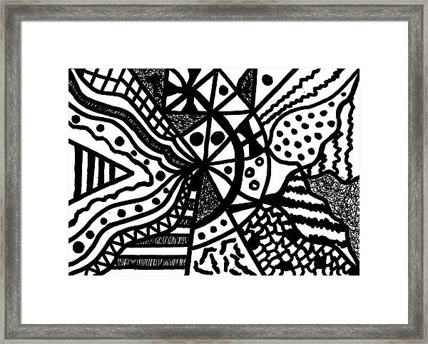 Night And Day 10 Framed Print