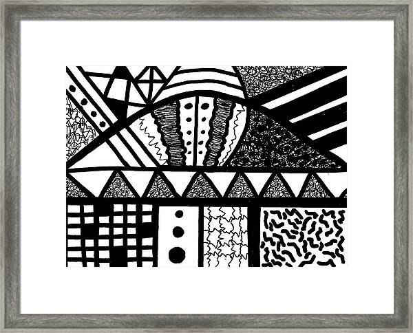 Night And Day 15 Framed Print