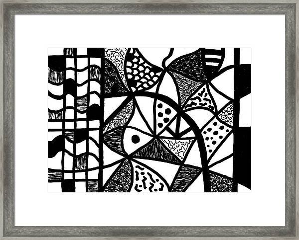 Night And Day 16 Framed Print