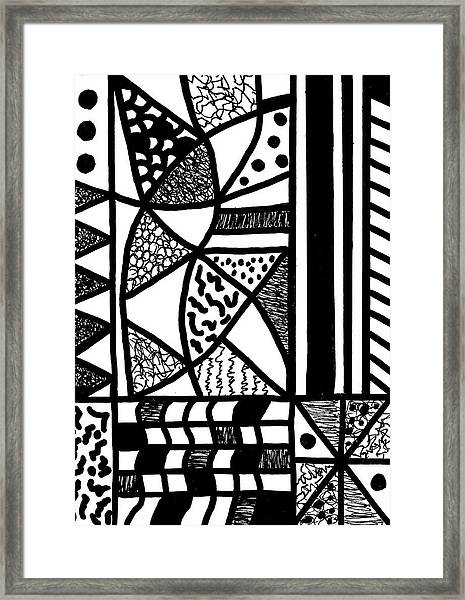 Night And Day 17 Framed Print