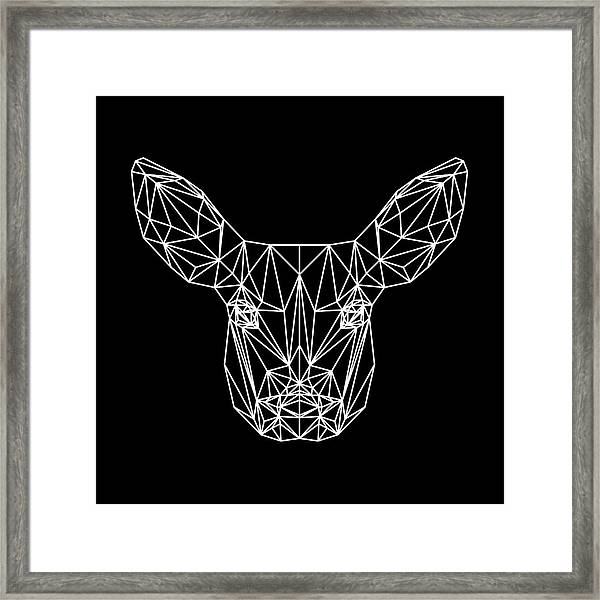 Night Bambi Framed Print