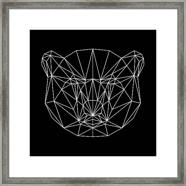 Night Bear Framed Print
