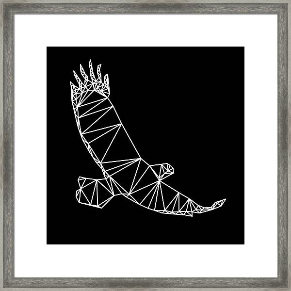 Night Eagle Framed Print