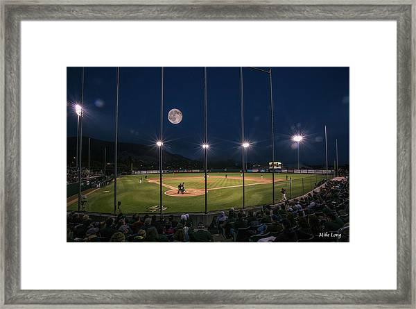 Night Game Framed Print