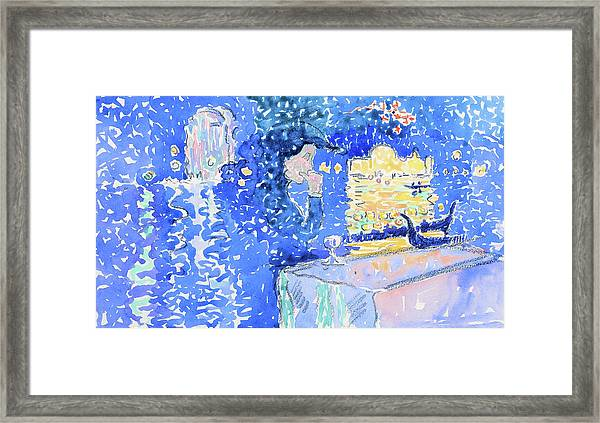 Night Of The Festival Of The Redeemer - Digital Remastered Edition Framed Print