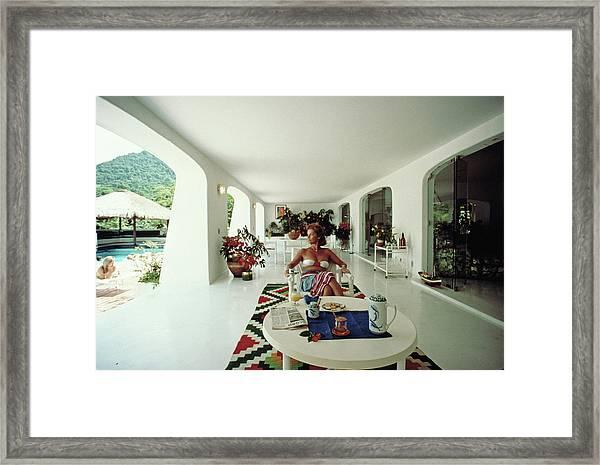 Nina Brusell Framed Print