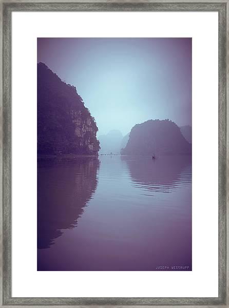 Ninh Binh River Framed Print